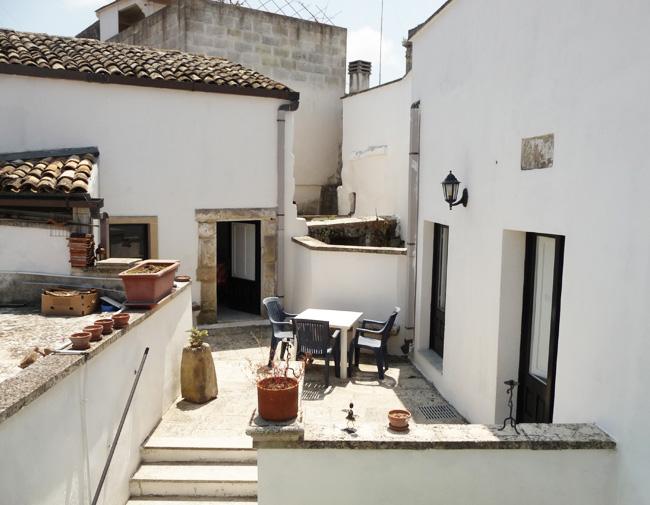 Il monolocale Min è il secondo appartamento della casavacanze Palazzo Zaminga a Carpignano Salentino
